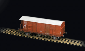 FREIGHT CAR F WITH BRAKEMAN'S CAB