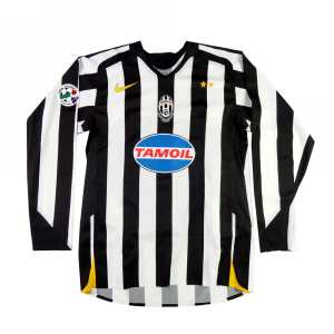 2005-06 JUVENTUS MAGLIA home MATCH WORN Primavera #5 (Top)