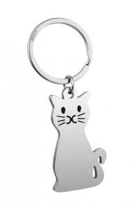 Portachiavi gatto cm.9,2x3,5x0,3h