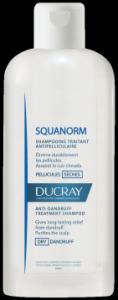 Ducray Squanorm Shampoo trattante antiforfora Forfora Secca 200 ml