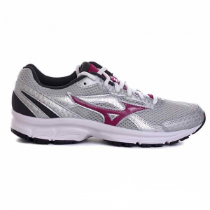SCARPE MIZUNO CRUSADER 9 K1GA150460 WHITE/PURPLE/GREY RUNNING
