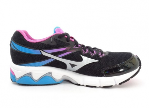SCARPE MIZUNO WAVE CONNECT 2 (W) J1GD154802 RUNNING BLUE/WHITE/PINK
