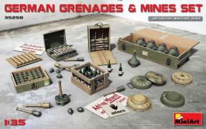 GERMAN GRENADES & MINES SET