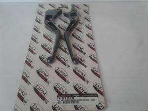 Coppia Leve Race anodizzate nero:Hornet 600/900-CBR600F 99/01
