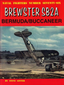 BREWSTER SB2A BERMUDA/BUCCANEER