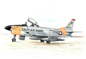 F-86L SABRE DOG 'WITH LON