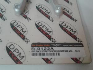 Coppia Leve Race anodizzate Grigio Hornet 600/900 CBR600F 99/01