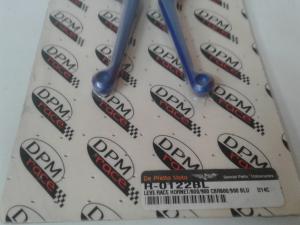 Coppia Leve Race anodizzate Blu: Hornet 600/900-CBR600F 99/01
