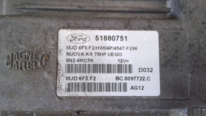 Centralina iniezione usata originale Ford Ka serie dal 2008> 1.3 TDCI