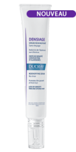 Ducray Densiage Siero Ridensificante senza risciacquo dona densità ai capelli fini e diradati 3X30 ml