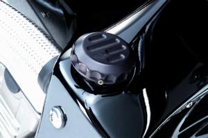 Copritappo Radiatore Anodizzato Nero Hornet 600  Suzuki SV 650
