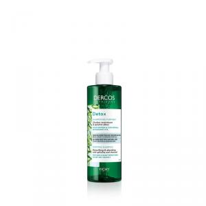 Vichy Dercos Detox shampoo capelli grassi e capelli che si sporcano rapidamente purificante Carbone assorbente e spirulina detox