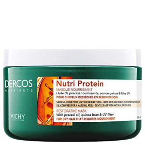 Vichy Dercos nutri protein Maschera Ristrutturante capelli secchi sfibrati o crespi 250 ml