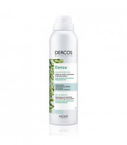 Vichy Dercos Detox Shampoo Secco per cute grassa e capelli che si sporcano rapidamente spray