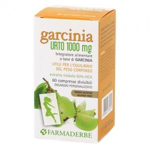 Garcinia Urto 1000 mg 60 compresse utile per l'equilibrio del peso corporeo