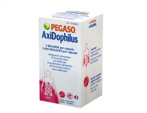 AxiDophilus Pegaso 3 miliardi per capsula  di fermenti lattici vivi che favoriscono l'equilibrio della flora intestinale