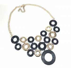 COLLANA BLACK AND GOLD