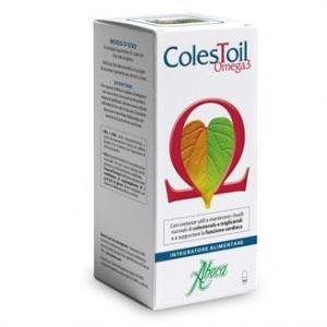 ColesToil Omega3 con sostanze utili a mantenere i livelli normali di colesterolo e trigliceridi e a supportate la funzione cardiaca 100 opercoli
