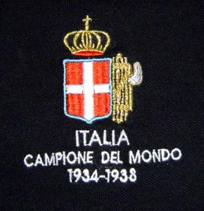 Polo commemorativa Italia Campione