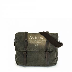 Avirex - 140506 - Borsa a tracolla unisex 1 scomparto verde militare cod. D