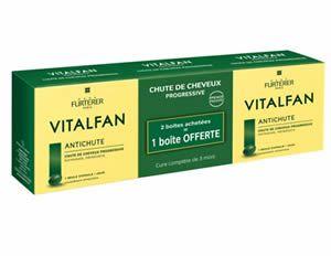Renè Furterer Vitalfan compresse anti caduta severa 3 mesi di trattamento 90 compresse