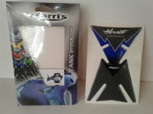 Proteggi Serbatoio Adesivo Hornet Colore Blu/Carbon Look