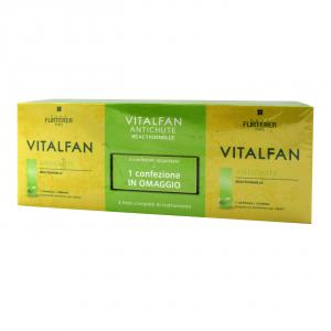 Renè Furterer Vitalfan compresse anti caduta occasionale 3 mesi di trattamento
