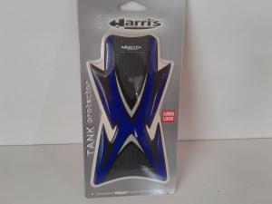 Proteggi Serbatoio Adesivo Universale Harris Colore Blu/Carbon Look