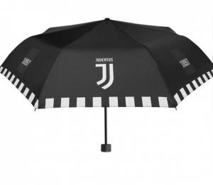Ombrello mini per Tifosi Calcio Juventus antivento cm.54x diam.98