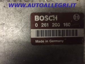 ECU Centralina Motore CITROEN PEUGEOT BOSCH 0 261 200 160, 0261200160