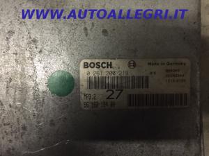 ECU Centralina Motore BOSCH Citroen XM Turbo 0261200219, 0 261 200 219