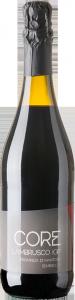 Lambrusco rosso Core IGP bottiglia da 0,75 lt