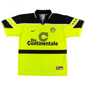 1997 Borussia Dortmund Maglia Home #7 XL (Top)