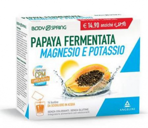 Energya Papaya Magnesio e Potassio 14 bustine