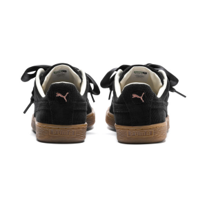 Sneakers donna PUMA Basket Heart in velluto a coste