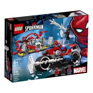 LEGO SUPER HEROES SALVATAGGIO SULLA MOTO DI SPIDERMAN 76113