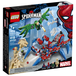 LEGO SUPER HEROES CRAWLER DI SPIDER MAN 76114
