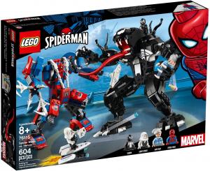 LEGO SUPER HEROES MECH DI SPIDER MAN VS VENOM 76115