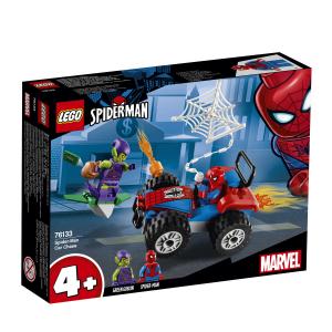 LEGO SUPER HEROESINSEGUIMENTO IN AUTO DI SPIDER MAN 76133