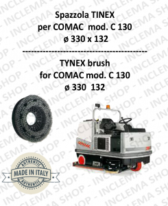 SPAZZOLA in TYNEX for Scrubber Dryer COMAC mod. C 130