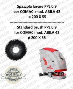 ABILA 42 Standard Bürsten ppl 0,9 für Scheuersaugmaschinen COMAC