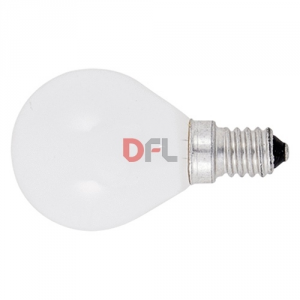 LAMPADINA PER INCUBATRICE E14 60W OPALE