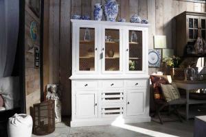 Credenza Bianca Con Vetrina : Credenze e vetrine gatta maison & jardin