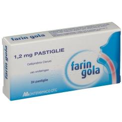 Farin Gola 24 Pastiglie 1,2mg