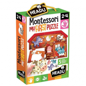 Montessori My First Puzzle The Farm