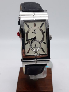 Orologio Uomo Kienzle rettangolare in acciaio cinturino in pelle, vendita on line | OROLOGERIA BRUNI Imperia