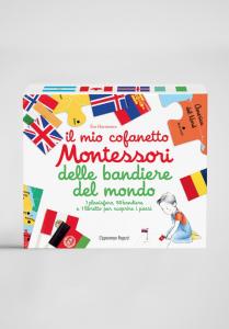 Il mio cofanetto Montessori delle bandiere del mondo