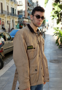 GIUBBOTTO BARBOUR INTERNATIONAL VINTAGE ANNI 80