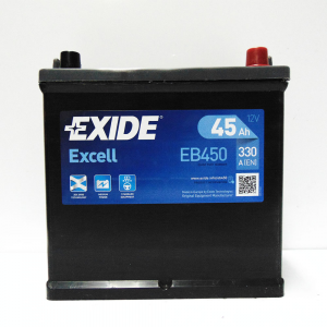 Batteria EXIDE 45Ah Dx - EB450