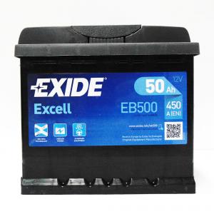 Batteria EXIDE 50Ah Dx - EB500